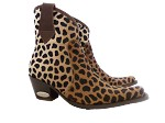Safari Cheetah Cowboy Bootie
