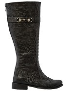 Manchester Black Riding Boot