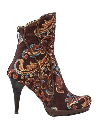 Passion Ranch Ankle Bootie