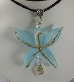 Starfish Blue Necklace